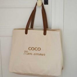 Bel Ami bag Coco mon Amour gold glitter