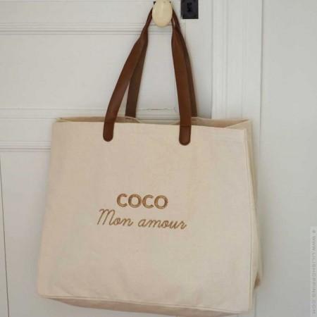 Bel Ami bag L'atelier Coco black glitter