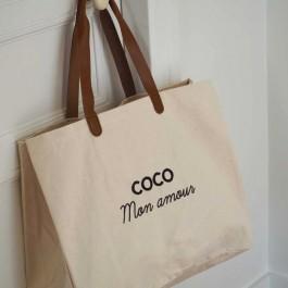 Bel Ami bag Coco mon Amour black glitter