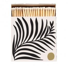 White fern Luxury matchbox