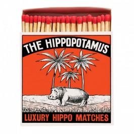 Hippopotamus Luxury matchbox