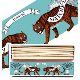 Long tiger luxury long matchbox