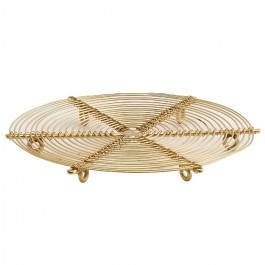Dessous de plat doré