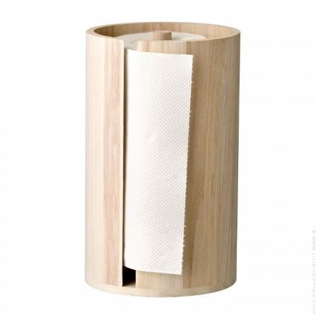 Porte essuie tout en bois naturel
