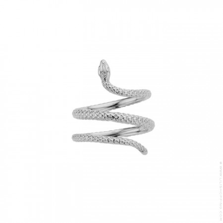 Snake Silver Plated Ring