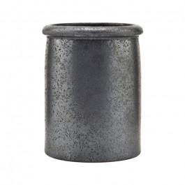 Black and brown Pion jar