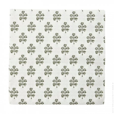 40 Plants napkins
