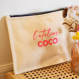 Pochette L'atelier Coco pink