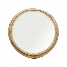 Miroir rotin rond 20 cm