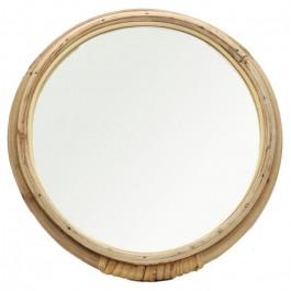 Miroir rotin rond 32 cm