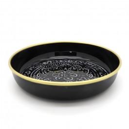 Black enamelled Berber cup