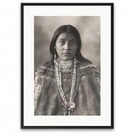 Affiche encadrée Native American