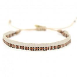 Argentinas grey moka beige bracelet