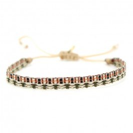 Bracelet Argentinas kaki moka