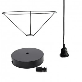 L kit to turn Tine K Home baskets in lampshades / pendants