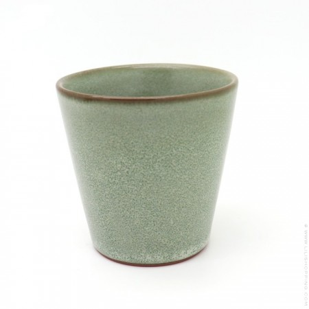 Light stone stonewear cup