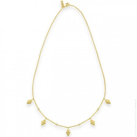 Gold plated Boradway necklace