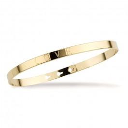 Love gold platted bracelet