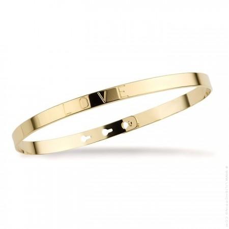 Je suis parfaite avec plein de jolis défauts white gold platted bracelet
