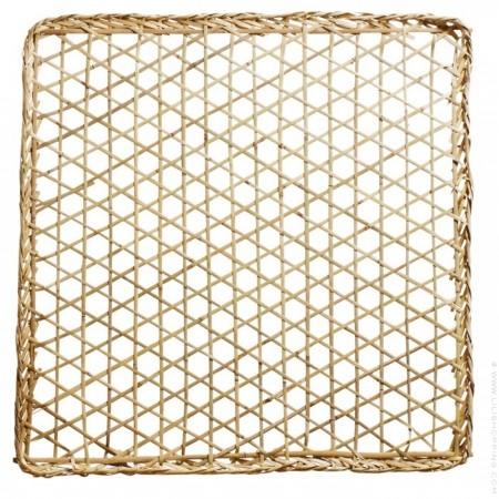Décoration à suspendre en jonc de mer 100 cm