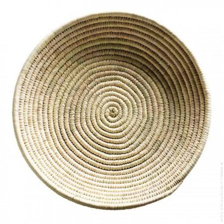 30 cm round flat basket
