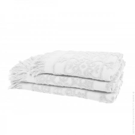 Drap de bain 90 x 140 Sumatra blanc