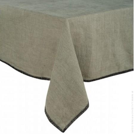 Chemin de table en lin 145 x 50 Letia naturel