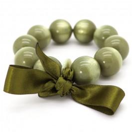 Light khaki XL bracelet Zoe Bonbon